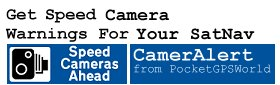 Get Speed Camera Warnings For SatNavs